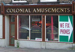 Amusement arcade, Lancaster. ©NRT 2005
