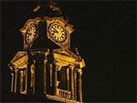 Clock Tower, Lancaster Town Hall, UK. ©NRT