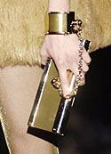 Gucci cuff purse