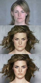 Stages in image manipulation