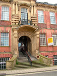 Old Technical School, Palmyra Square, Warrington, UK. ©NRT