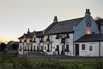 The Stork, Conder Green, near Lancaster, UK, at sunset. ©NRT