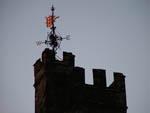 Lancaster Castle at dusk