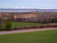 Snow on the Lakes, from Lancaster. © NRT, 2003